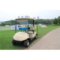 High Speed Electric Motor 2 Seater Golf Carts , Two Seat Golf Cart Utility Vehicle