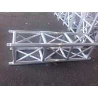 Outdoor Party Aluminum Stage Truss Square Shape Silver / Black 400mm X 400mm Manufactures