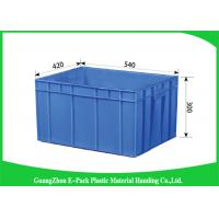 China Big Capacity Plastic Stackable Containers Transport Turnover Storage Non - Slip on sale