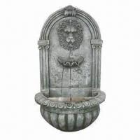 Li-ion Head Classic Wall Fountain, Made of Fiberglass, Direct Electric Pump Manufactures
