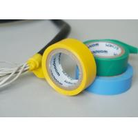 Vinyl Electrical Insulating Heat Resistant Tape , Blue PVC Masking Tape Manufactures