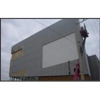 Incombustibility Compressed Fiber Cement Board External Wall Panel 100% Free Asbestos Manufactures