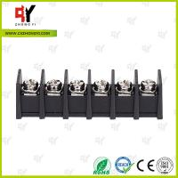 Quality 7.62mm Barrier Style Terminal Blocks with Wire Range 22AWG - 12 AWG for sale