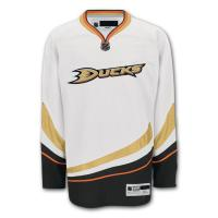 White / Black Youth Authentic Ice Hockey Jerseys College Hockey Uniforms Manufactures