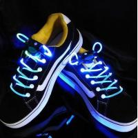 Yellow-White Light Up Shoelaces Manufactures