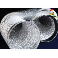 18'' Round Range Hood Flexible Duct , Silver Kitchen Cooker Hood Ventilation Ducting Manufactures