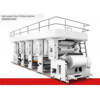 Water Based Ink High Speed Flexographic Printing Machine 1200mm Max Material Dia Manufactures