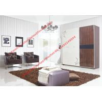 Quality Apartment interior project Custom Furniture Modern Wooden Sliding door Wardrobe for sale