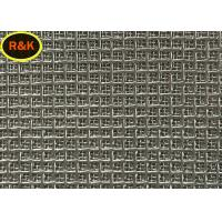 100 Microns Stainless Steel Metal Mesh High Mechanical Stability Easy Penetrate Manufactures