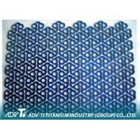 THK 0.6mm Titanium Mesh Medical Orthopedic Implants Titanium Gr 2 Manufactures
