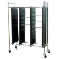 ML-8602 SMT Magazine Rack Storage Cart For PCB Storage Gear Adjustment Type Manufactures