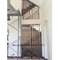China Colored stainless steel art screen room divider partition for decorative on sale
