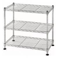 3 Tier Level Lightweight  Wire Shelving Rack Shelf Unit Garage Storage Organizer Kitchen Manufactures