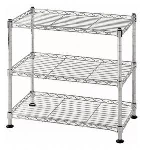 3 Tier Lightweight Home Wire Shelving Rack Unit Garage Storage Organizer