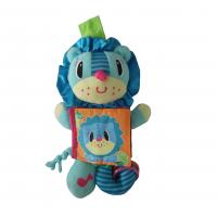 China baby lion toy with book / baby book / colorful book for baby on sale