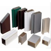 China Anodized 6063 Construction Aluminum Profile Extrusion Customized Sections on sale