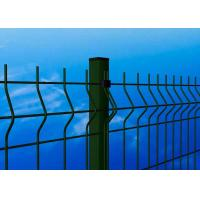 Green Wire Mesh Fence Panels , Hot Dipped Galvanized Wire Mesh Fence Manufactures
