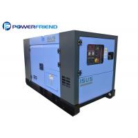 China Silent Type 105kw 131kva Oem Water Cooled Diesel Generator Set With Canopy on sale