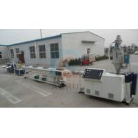 China High Speed 10-25m/min Plastic Pipe Extrusion with 20mm to 63mm diameter on sale