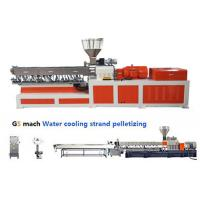 Buy cheap PP ABS Double Screw Extruder Making Machine Water Strand Pelletizing Line from wholesalers