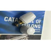 OEM White Color Brass Water Fittings Water Adjuster Cap Plastic Manufactures