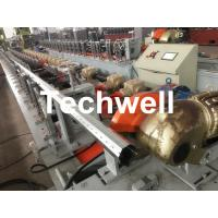 40mm, 60mm, 70mm, 80mm Octagon / Octagonal Pipe Roll Forming Machine With Fly Saw Cutting Manufactures