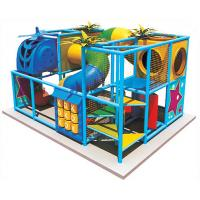 China Lovable Kids Indoor Playground Equipments with Three Plastic Nets A-08902  on sale