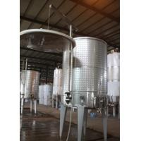 1000L ss304 olive oil storage tank with open top Manufactures