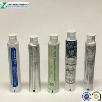 Toothpaste Container Cosmetic Tube , Glossy Squeeze Aluminum Plastic Laminated Tube Manufactures