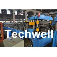 Quality Double Layer Roof Wall Panel Cold Roll Forming Machine for Two Different Roof Panels for sale