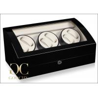 China Rotary Automatic Watch Winder , Automatic Watch Winder Suede Interiors on sale
