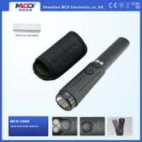 Cylindrical Security Portable Metal Detector With 360° Detection Area Manufactures
