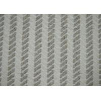 China Herringbone Jacquard Material / Cotton Blended Fabric No Harmful Substances on sale