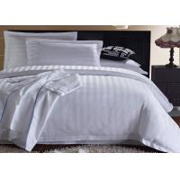 Queen Size / King Size Hotel Bedding Sets 4 Pieces Most Comfortable Custom Color Manufactures