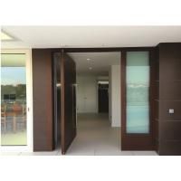 Entrance Wooden Swing Door Tubular Particleboard Anti Scratch for Apartment Hotel Manufactures