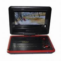 Portable DVD Player with 7-inch TFT Screen, USB, SD Game, TV and FM Tuner Manufactures