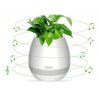 Magic Playing Music Led Flower Pots Smart With Bluetooth Pots , Touching Electrical Gift Manufactures