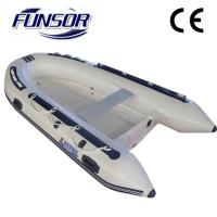 Original FQB 330 PVC Rib Rigid Inflatable Boat For People To Fishing Manufactures