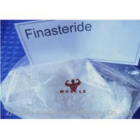 99% Pharmaceutical Raw Material Finasteride Hair Growth Steroids For Male CAS 98319-26-7 Manufactures