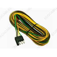 4 - Way Trailer Wiring Harness For Vehicle Side Color Coded 18 Gauge Bonded Wires Manufactures