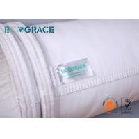 High Efficiency Polyester Filter Bag with Water Oil Repellent For Cement Plant Manufactures