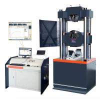 Computerized Hydraulic Tensile Testing Machine of Steel 6KN - 300KN Manufactures