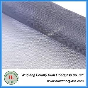 China 18x16 plain woven pvc coated fiberglass window screen net on sale