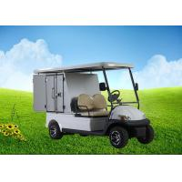 China Aluminum Box Custom Electric Golf Carts With Roof Rack For Hotels and Resorts on sale