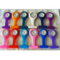 China Silicone Nurse FOB Watch, With Exchangeable Silicone Cover on sale