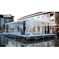 China Crystal Marquee Romantic Hot Sale Clear Roof Wedding Tent for Sale from China on sale