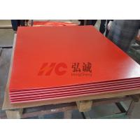 China Flame Resistant Red Laminate Sheet High - Flexural And High - Impact Strength on sale