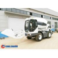 Diesel Industrial Concrete Mixer , Heavy Duty Self Loading Concrete Truck Mixer Machine Manufactures