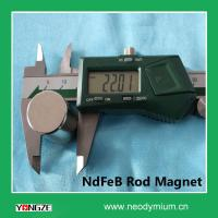 Hot Selling Neodymium Rod Magnet L22mm Manufactures