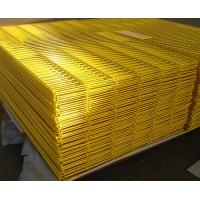 PVC Coated Wire Mesh Fence High Security 5.0mm For Prison / Airport Protect Manufactures